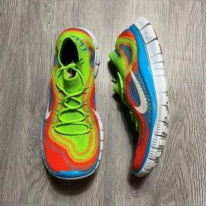 Nike Free 5.0 Flyknit Multi Running Shoe Men's 8.5